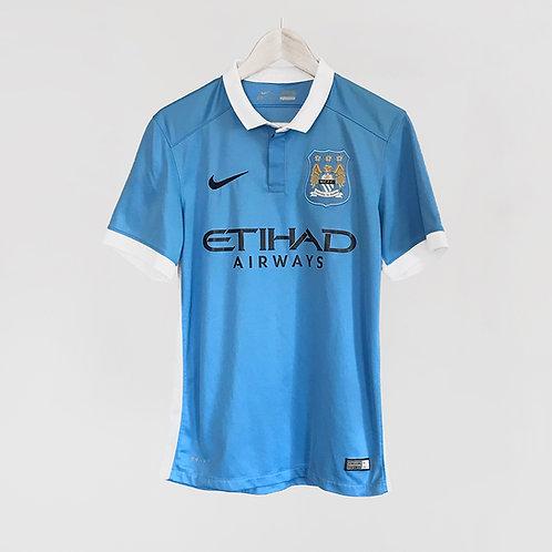 Nike - 2015/16 Man City Home Jersey