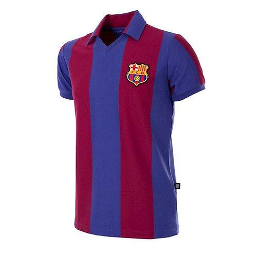 COPA - FC Barcelona 1980 - 81 Retro Football Shirt