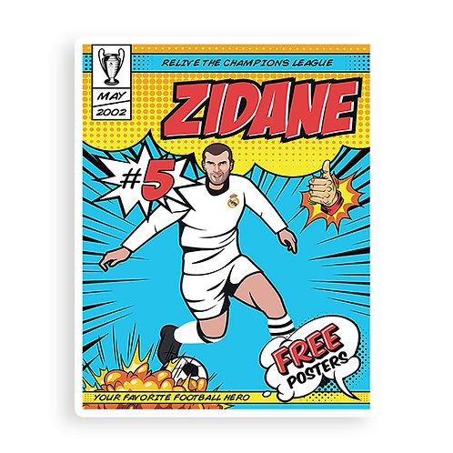 Dirty Pitch FC -  Zizou Sticker