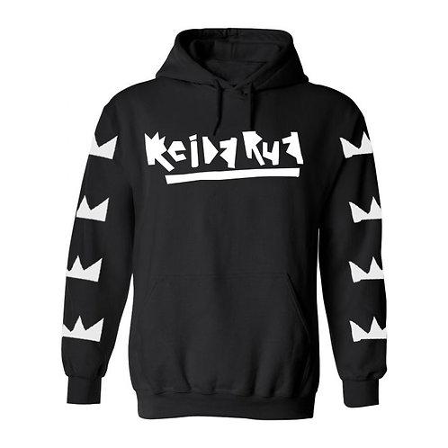 bola - rei da rua black hoodie