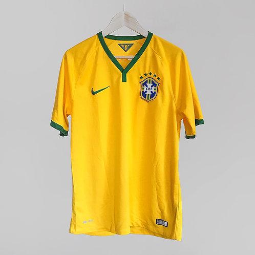 Nike - 2014/15 Brazil Home Jersey