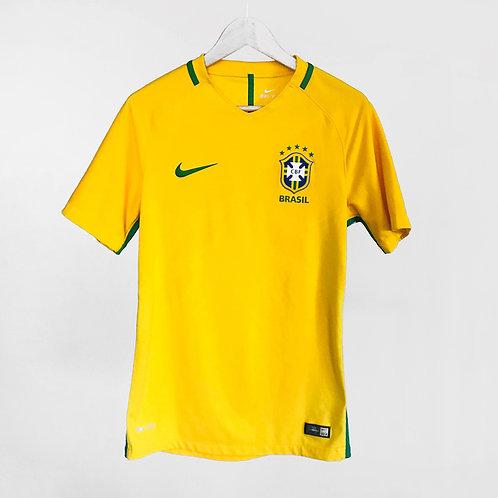 Nike - 2016/17 Brazil Vapor Home Jersey