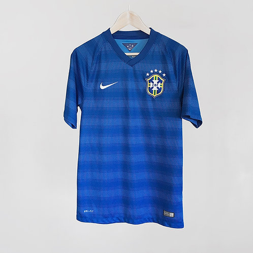 Nike - 2014/15 Brazil Away Jersey