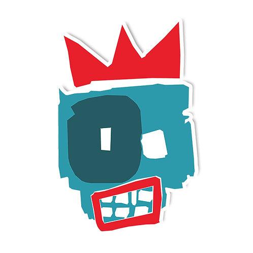 bola - rei da rua sticker