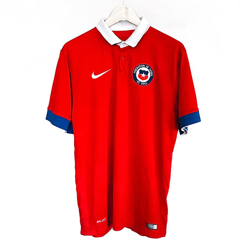 Nike - 2015/16 Chile Home Jersey