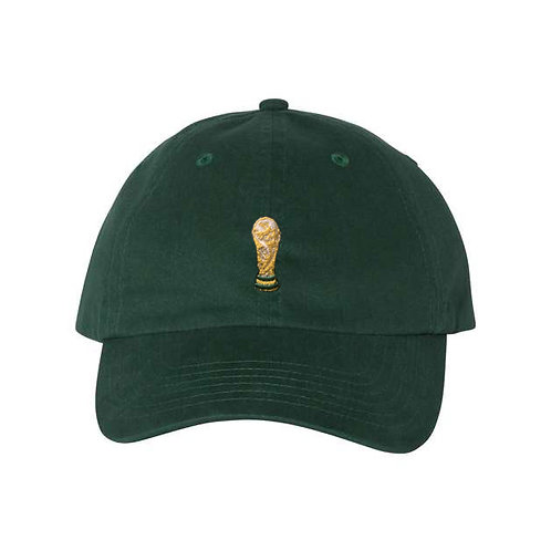 Dirty Pitch FC - The Cup Forest Green Dad Hat