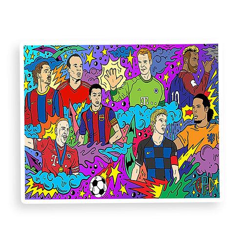 Dirty Pitch FC - Ballon d'Or Multiverse Sticker