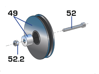 Monitor Bearings half size
