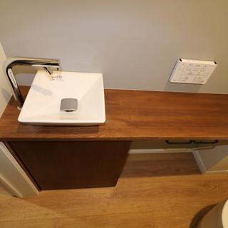 手洗いカウンター(造作)