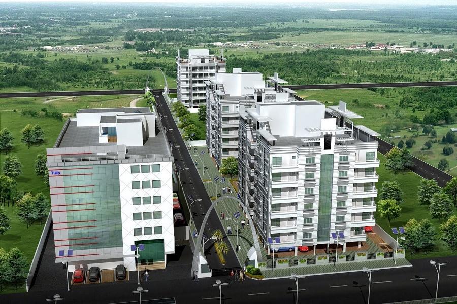 sunita_raipur_aerial_view