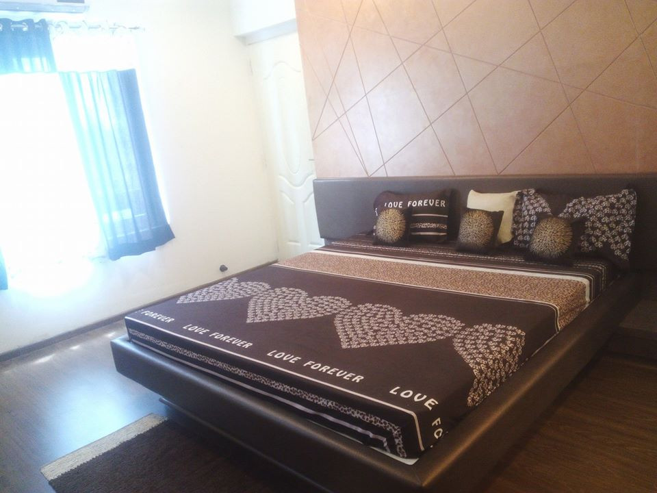 3 BHK Master Bedroom Angle 1