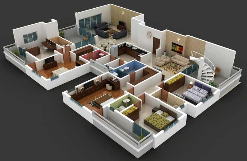 PentHouse 3D View