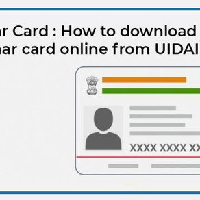 Complete These 5 Steps to Download Your e-Aadhaar Card