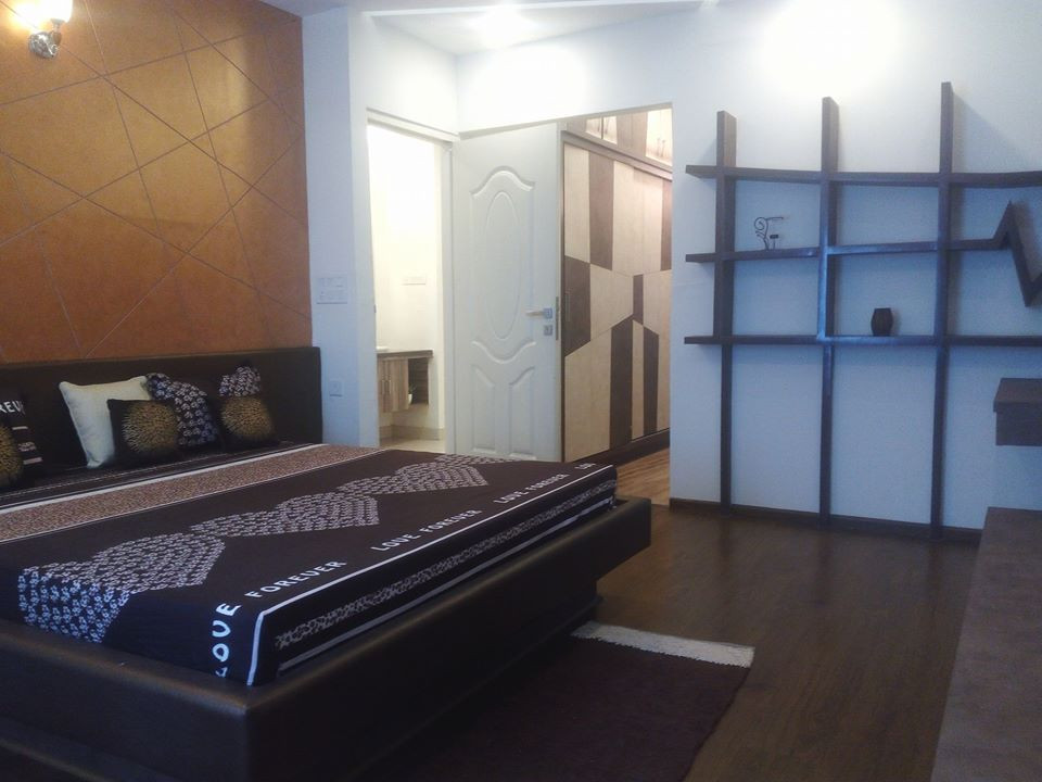 3 BHK Master Bedroom Angle 2