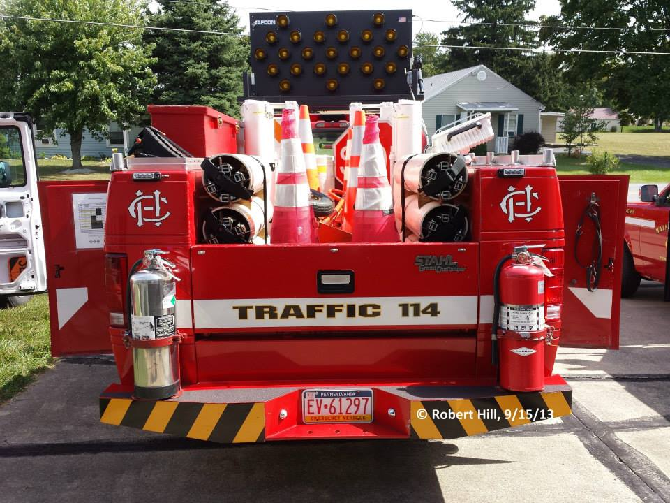 Camp Hill Fire Department - Camp Hill PA Traffic 114