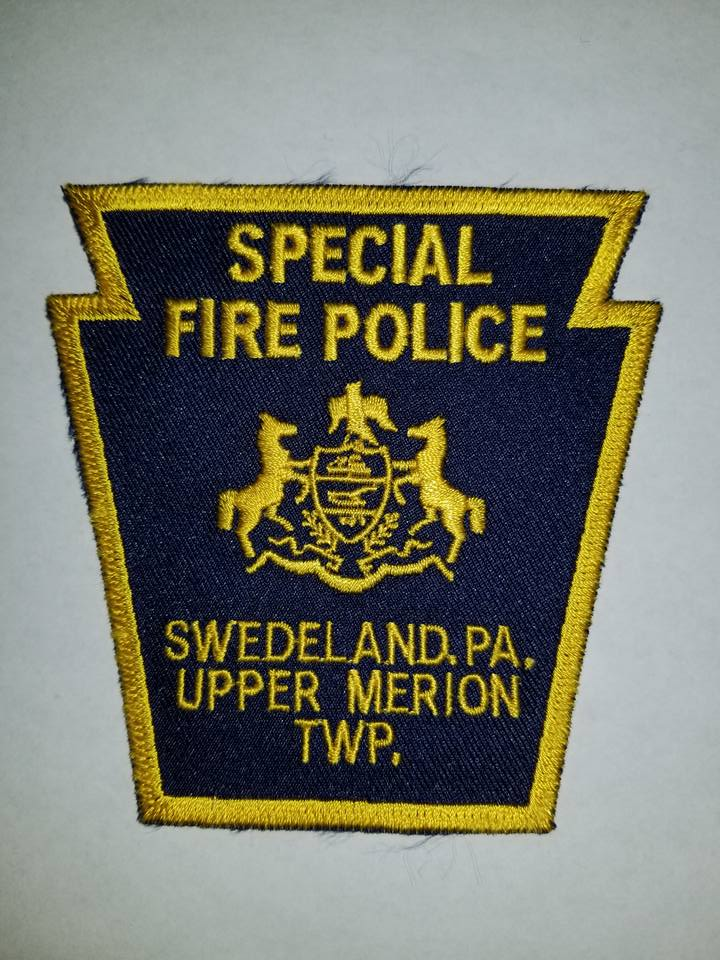 Swedeland Upper Merion Township PA Special Fire Police