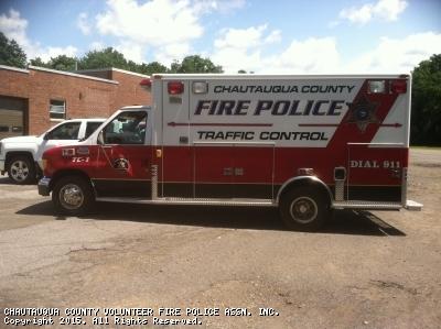 CHAUTAUQUA COUNTY VOLUNTEER FIRE POLICE ASSN. INC. Mayville NY TC-5