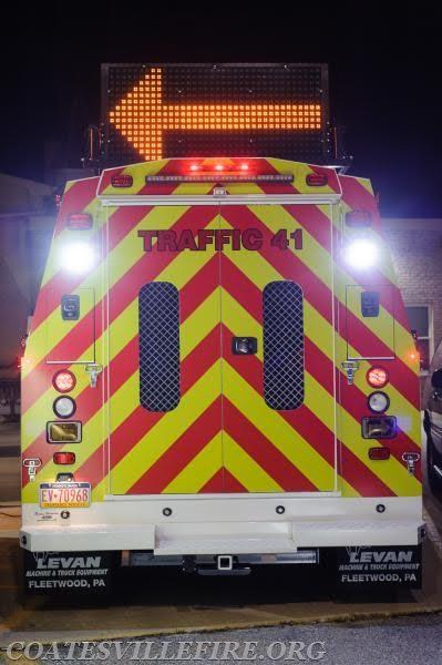 Coatesville Fire Police Traffic 41 5