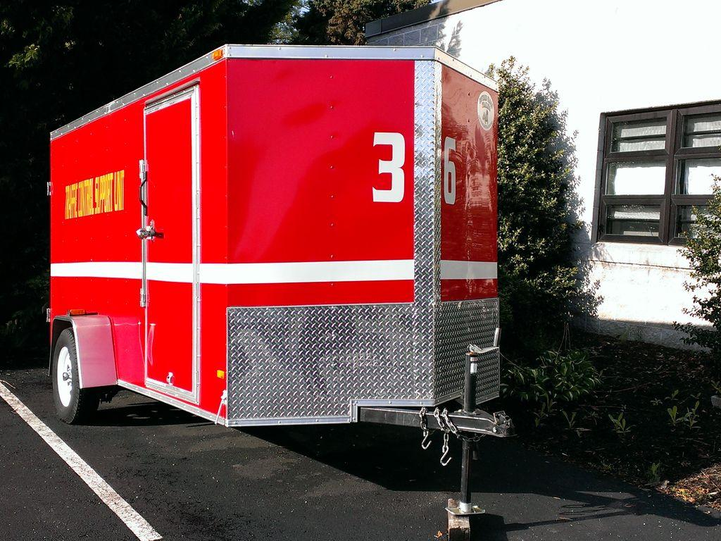 Citizens Fire Co. No. 1 Mount Holly Springs PA Traffic Trailer
