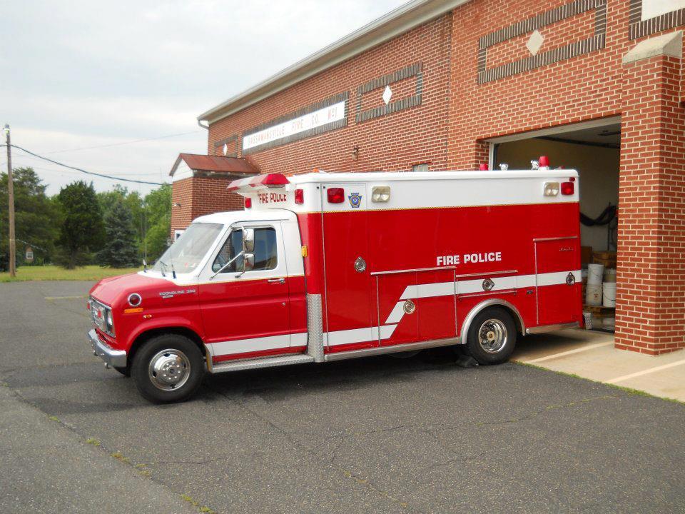 Sassmansville Fire Police Traffic 68  2