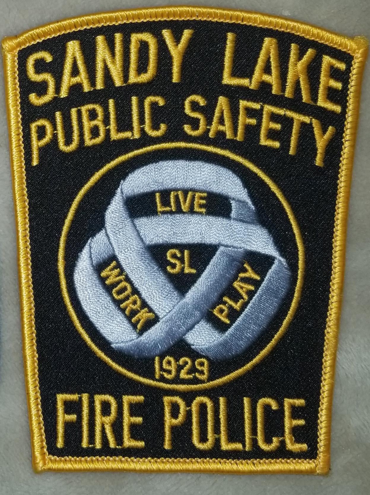 Sandy Lake Public Safety Fire Police PA.