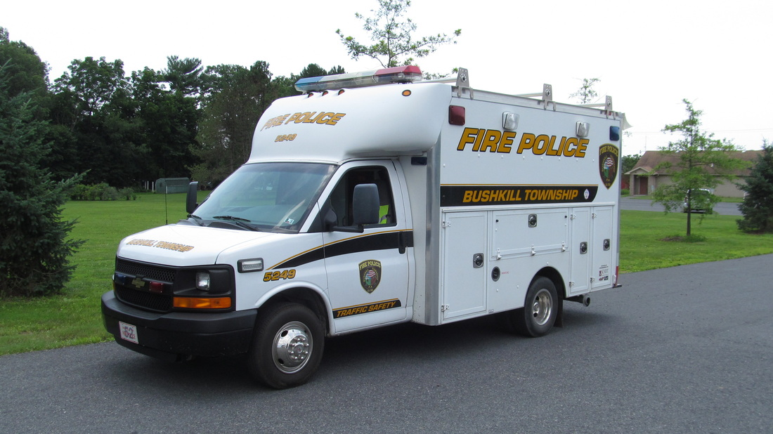 Bushkill Township Volunteer Fire Company - PA Fire Police Vehicle 5249