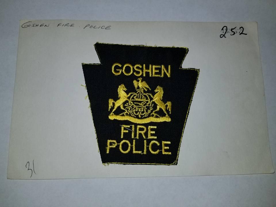 Goshen PA Fire Police 1