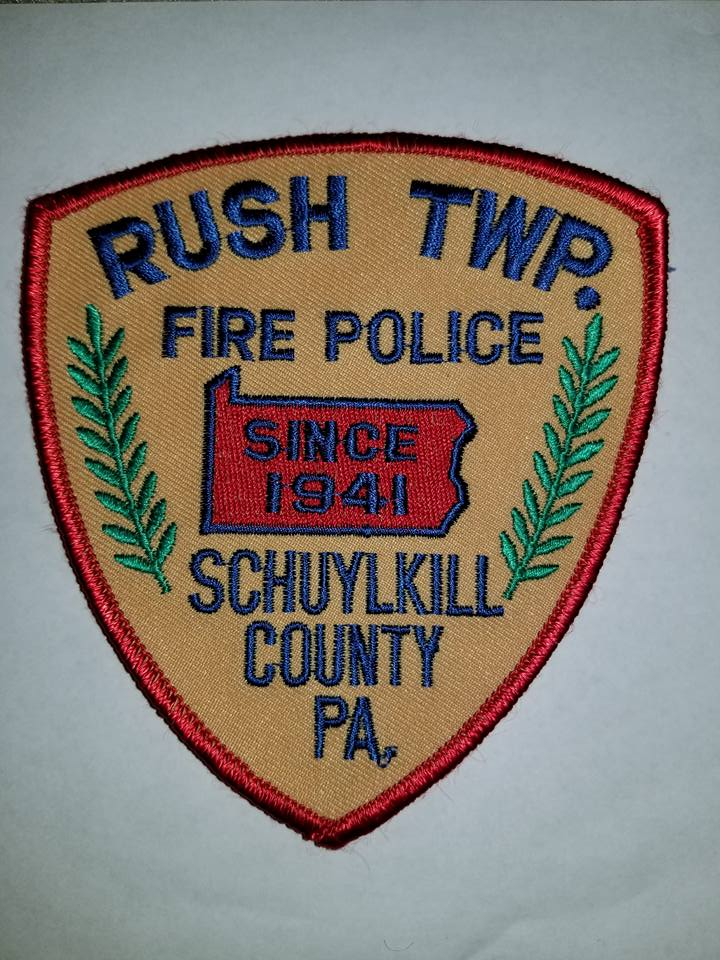 Rush Township Schuylkill County PA Fire Police 1