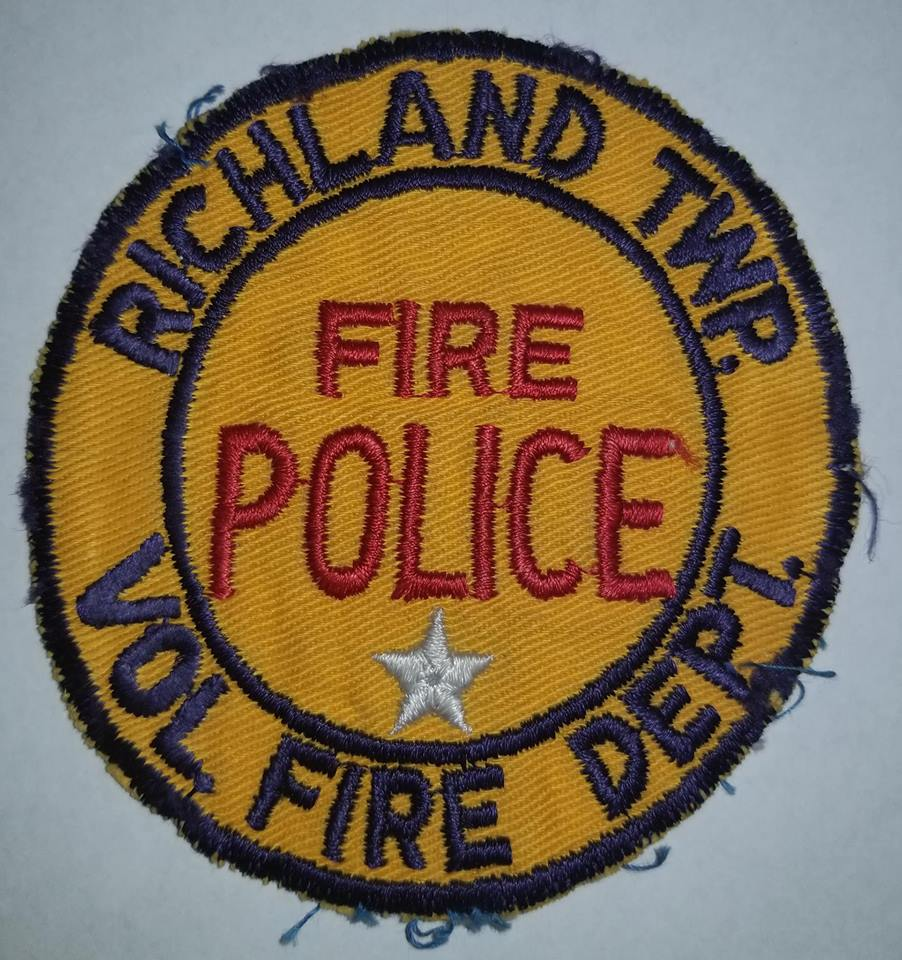 Richland Township Fire Police PA