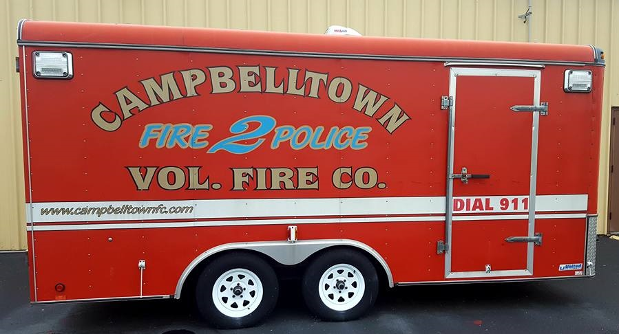 Campbelltown Fire Company - Fire Police Trailer