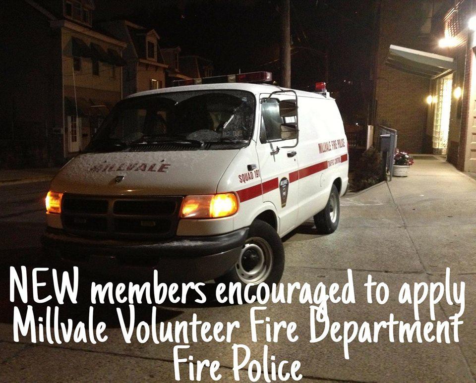 Millvale FD Squad 91 Fire Police PA