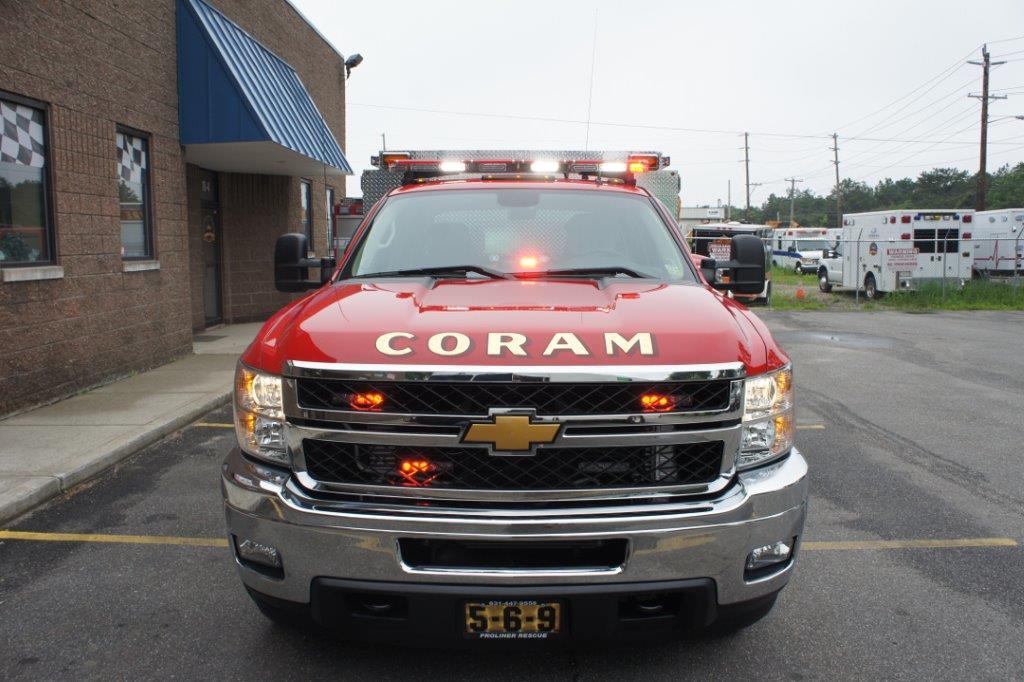 Coram Fire Police NY  5-6-9   1