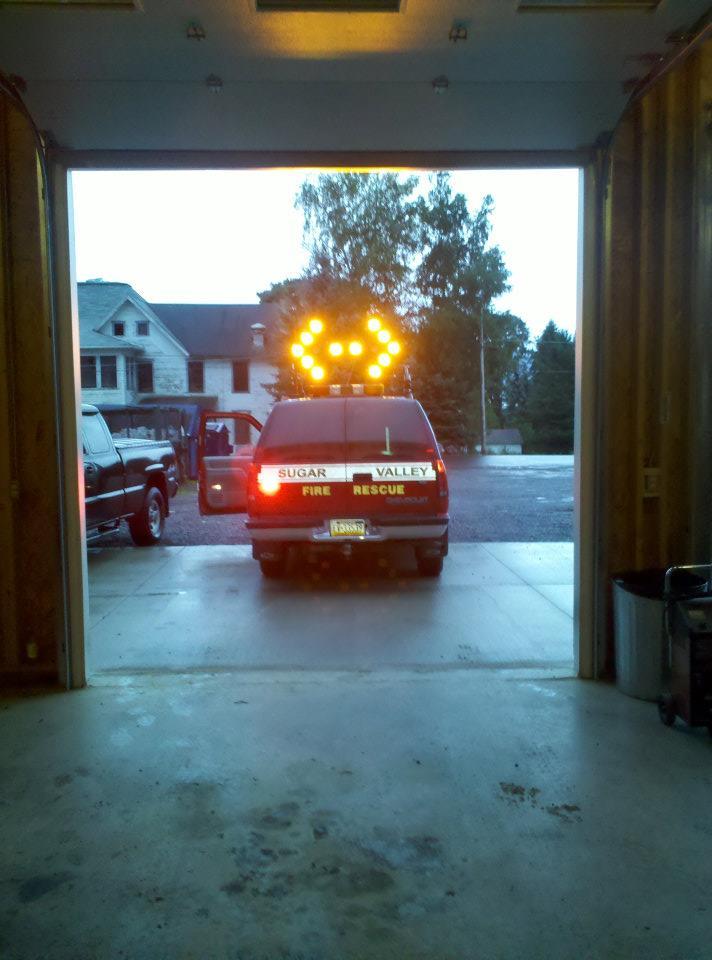 Sugar Valley Community Volunteer Fire Company PA Special Unit 13-22 2