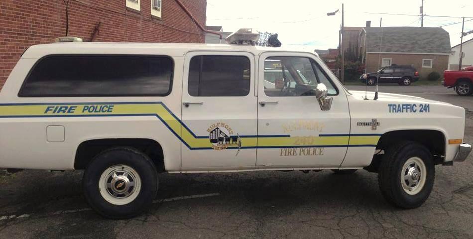 Kulpmont Fire Police Traffic 241 1