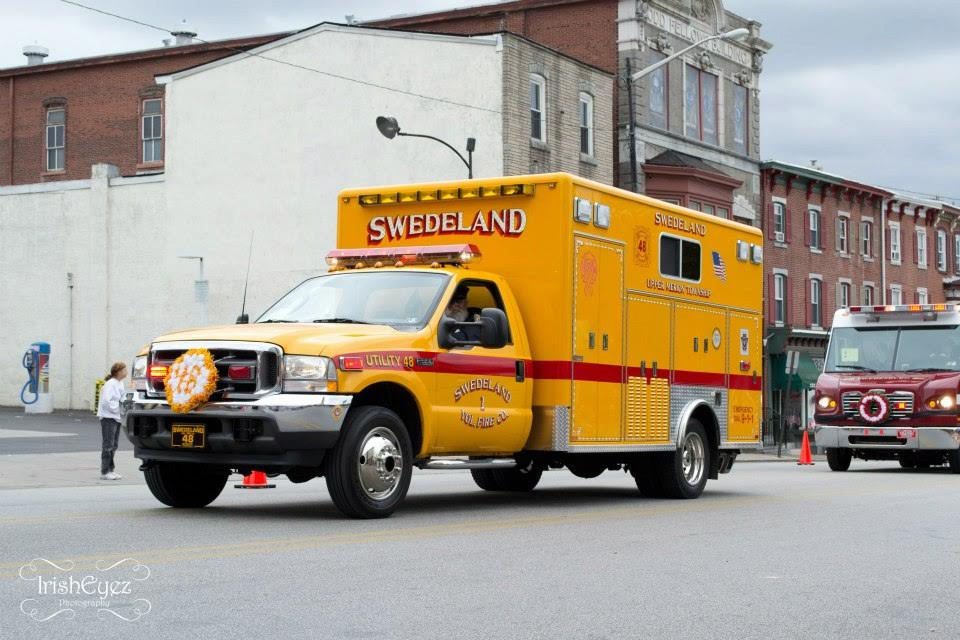 Swedeland Volunteer Fire Company Upper Merion Township Utility 48 - was originally named Traffic 48