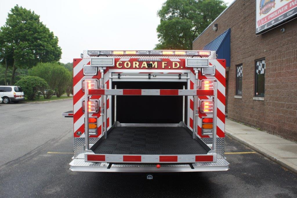 Coram Fire Police NY  5-6-9   10