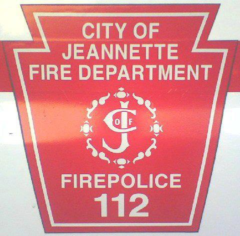 Jeanette Fire Department Fire Police 112