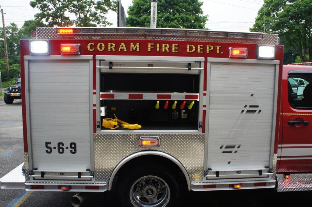Coram Fire Police NY  5-6-9   6