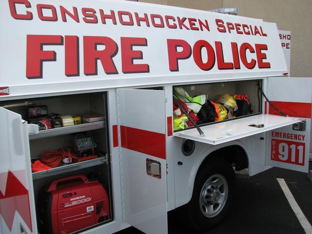 CONSHOHOCKEN Fire Co. PA Special Fire Police Traffic 36 4