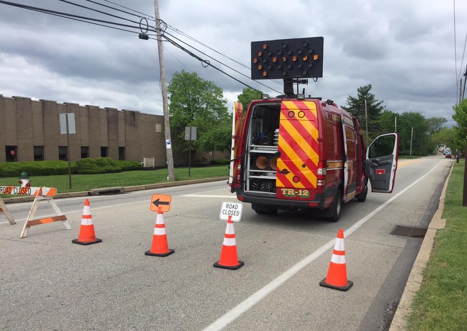 Colmar Fire Company PA Traffic 12 ---