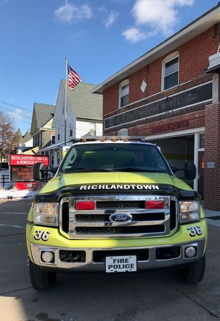 Richlandtown Fire Co. PA Traffic 36 1