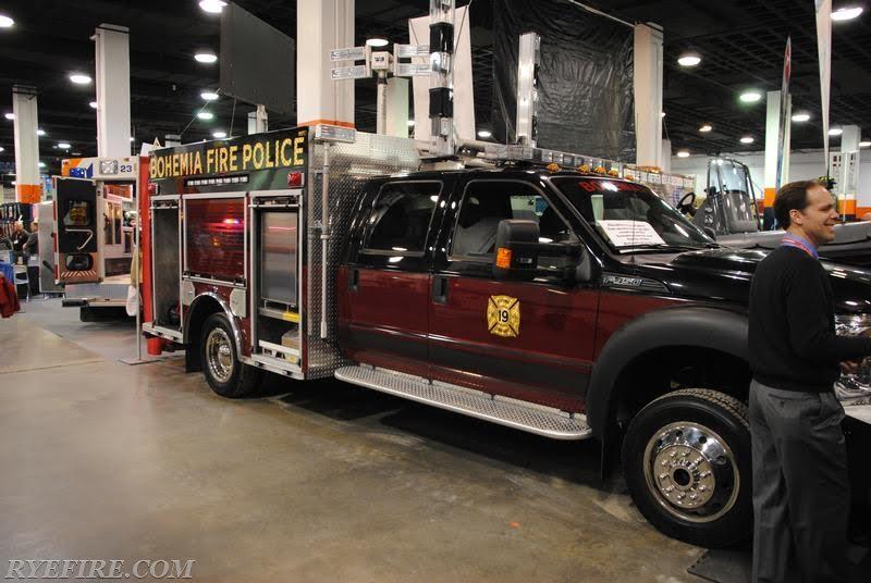 Bohemia NY Fire Police Brat 3-12-19  2
