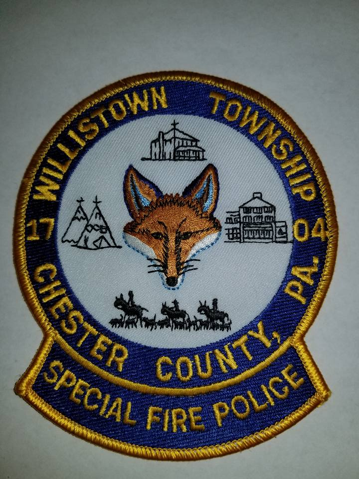 Willistown Township Chester County PA Special Fire Police