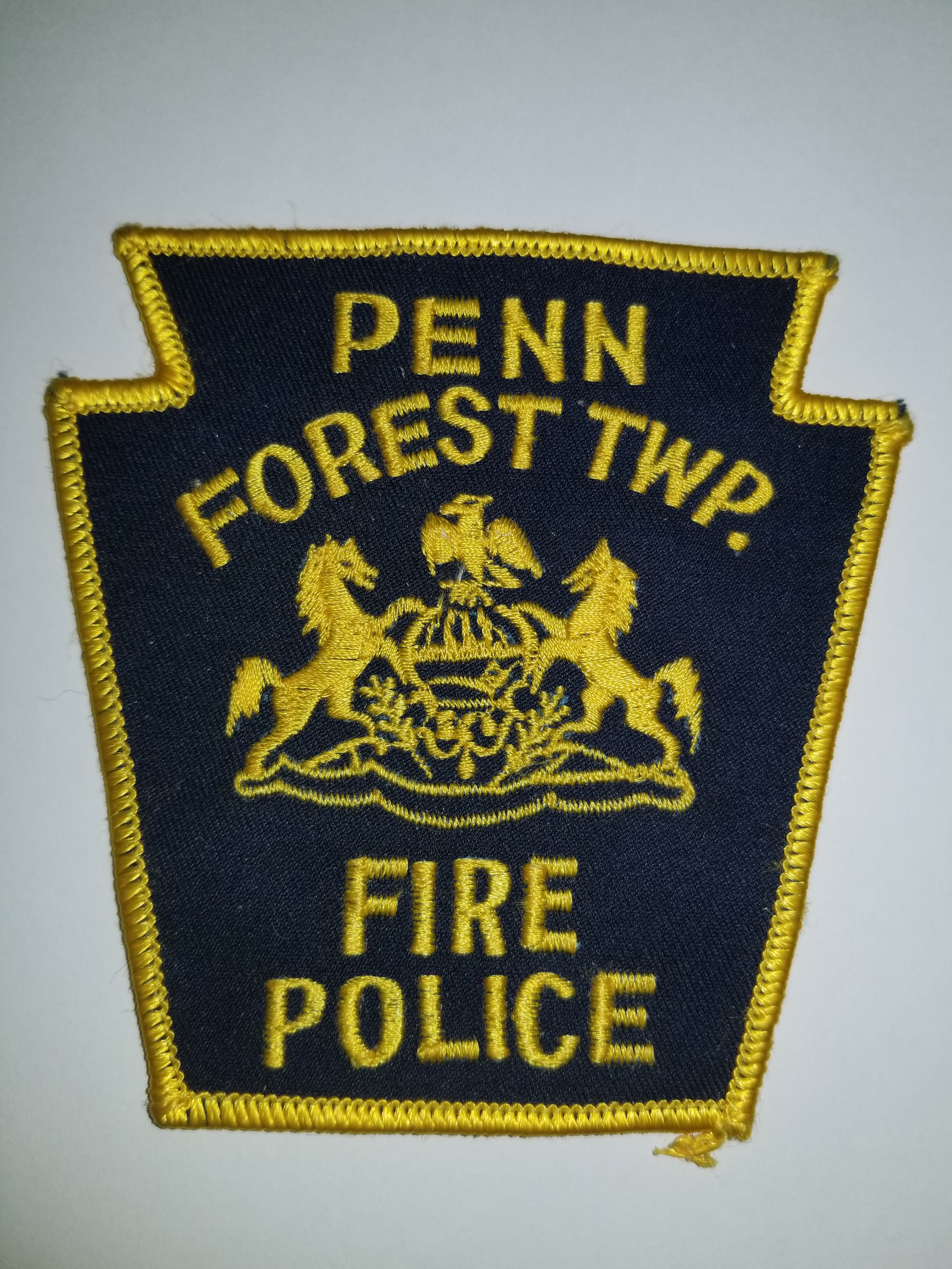 Penn Forest Township PA Fire Police