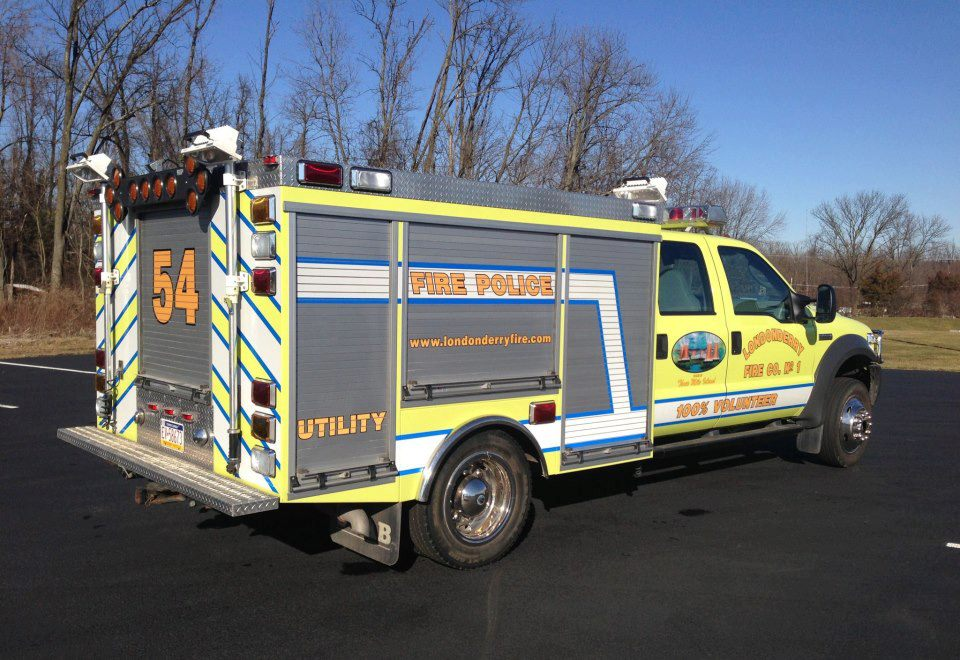 Londonderry Fire Company Middletown  PA  Utilty - 54 FIRE POLICE 2