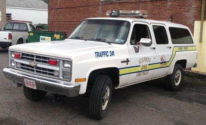 Kulpmont Fire Police Traffic 241 3