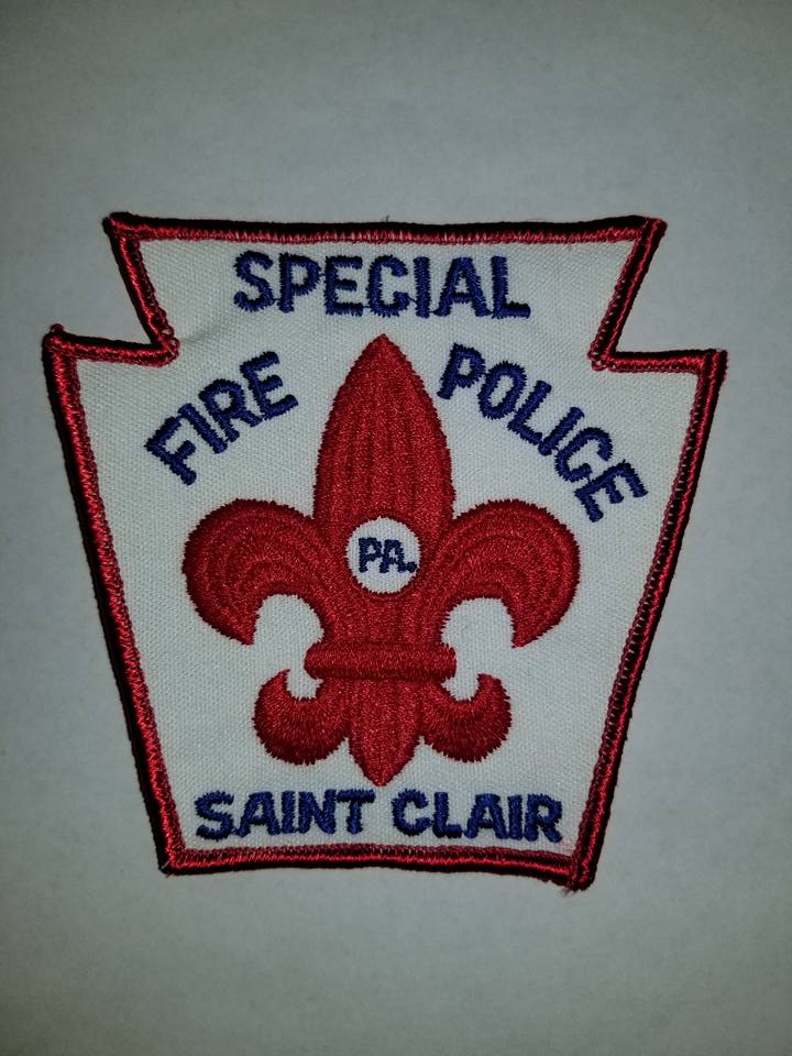 Saint Clair PA Special Fire Police 2