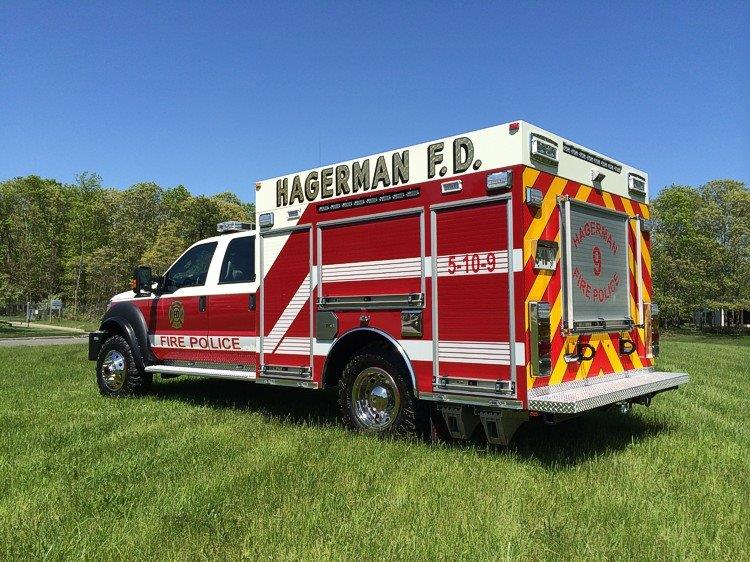Hagerman FD East Patchogue NY Fire Police Rescue 3