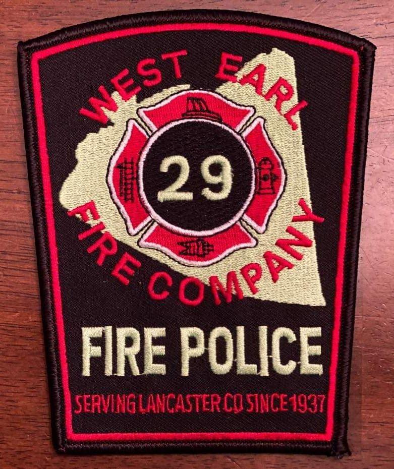 West Earl Fire Company Fire Police PA 1.