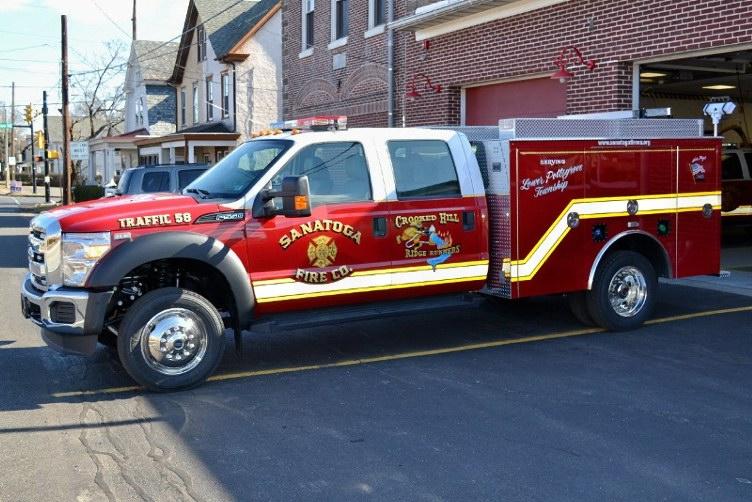 Sanatoga Fire Company - Montgomery County PA - Traffic 58 1